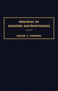 Cover image for Principles of Quantum Electrodynamics