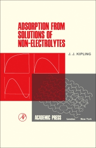 Cover image for Adsorption from Solutions of Non-Electrolytes