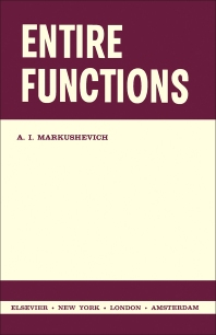Entire Functions - 1st Edition - ISBN: 9781483231754, 9781483274904