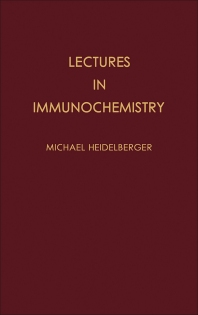 Cover image for Lectures in Immunochemistry