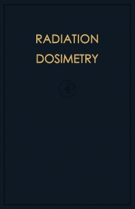 Cover image for Radiation Dosimetry