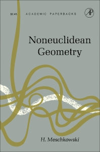NonEuclidean Geometry - 1st Edition - ISBN: 9781483256641, 9781483259215