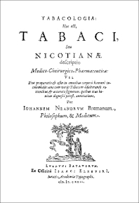 Cover image for Tabacologia