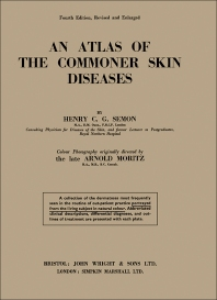 Cover image for An Atlas of the Commoner Skin Diseases