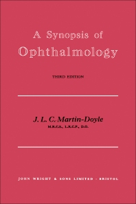A Synopsis of Ophthalmology - 3rd Edition - ISBN: 9781483283050, 9781483285214