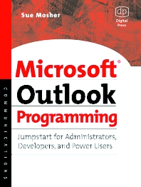 Microsoft Outlook Programming - 1st Edition - ISBN: 9781555582869, 9780080491875