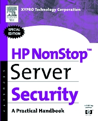 Cover image for HP NonStop Server Security