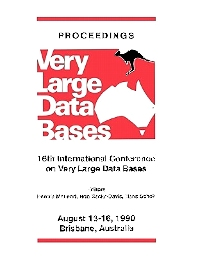 Cover image for Proceedings 1990 VLDB Conference