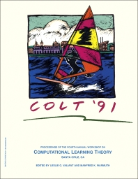 COLT '91 - 1st Edition - ISBN: 9781558602137, 9781483299143