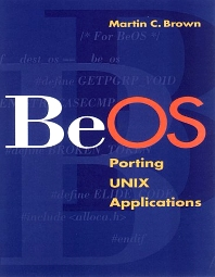 BeOS, 1st Edition,Martin Brown,ISBN9781558605329
