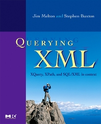 Cover image for Querying XML