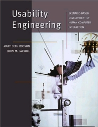 Usability Engineering, 1st Edition,Mary Beth Rosson,John Carroll,ISBN9781558607125