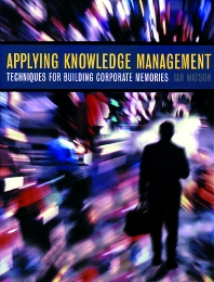 Cover image for Applying Knowledge Management