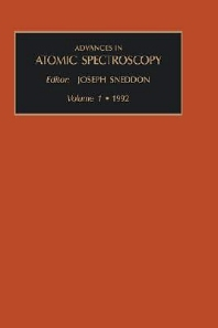Advances in Atomic Spectroscopy, Volume 1, 1st Edition,J. Sneddon,ISBN9781559381574