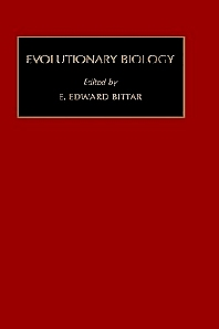 Evolutionary Biology, 1st Edition,Edward Bittar,ISBN9781559383035