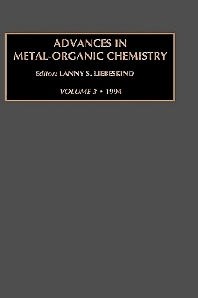 Advances in Metal-Organic Chemistry, Volume 3, 1st Edition,Gerard Meurant,ISBN9781559384063
