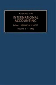 Advances in International Accounting - 3rd Edition - ISBN: 9781559384155