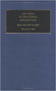 Advances in International Accounting - 1st Edition - ISBN: 9781559385992