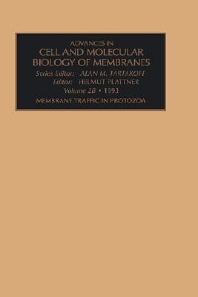 Membrane Traffic in Protozoa, Part A, 1st Edition,H. Plattner,ISBN9781559386289