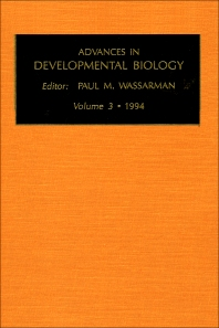 Cover image for Advances in Developmental Biology
