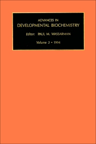 Cover image for Advances in Developmental Biochemistry