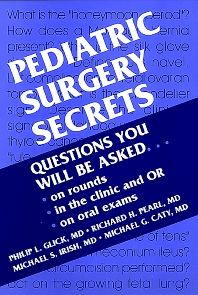 Cover image for Pediatric Surgery Secrets