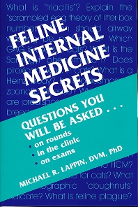 Cover image for Feline Internal Medicine Secrets