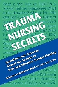 Cover image for Trauma Nursing Secrets