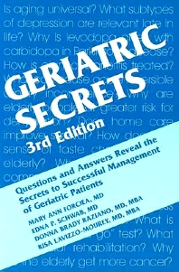 Cover image for Geriatric Secrets