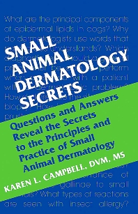 Cover image for Small Animal Dermatology Secrets