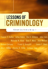 Lessons of Criminology, 1st Edition,Gilbert Geis,Mary Dodge,ISBN9781583605127