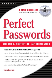 Perfect Password, 1st Edition,Mark Burnett,ISBN9781597490412