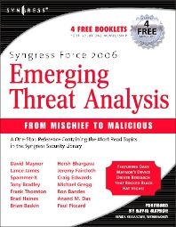 Syngress Force Emerging Threat Analysis - 1st Edition - ISBN: 9781597490566, 9780080475592