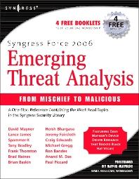 Syngress Force Emerging Threat Analysis