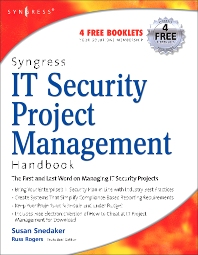 Syngress IT Security Project Management Handbook - 1st Edition - ISBN: 9781597490764, 9780080489773
