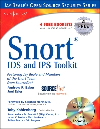 Snort Intrusion Detection and Prevention Toolkit, 1st Edition,Brian Caswell,Jay Beale,Andrew Baker,ISBN9781597490993
