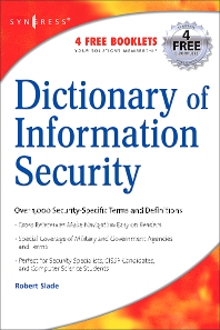 Cover image for Dictionary of Information Security