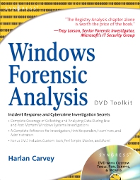 Cover image for Windows Forensic Analysis DVD Toolkit