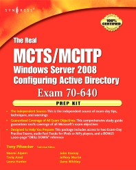 The Real MCTS/MCITP Exam 70-640 Prep Kit - 1st Edition - ISBN: 9781597492355, 9780080570143