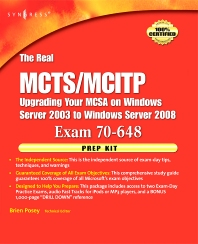 The Real MCTS/MCITP Exam 70-648 Prep Kit, 1st Edition,Brien Posey,ISBN9781597492362
