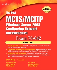 The Real MCTS/MCITP Exam 70-642 Prep Kit - 1st Edition - ISBN: 9780080570365