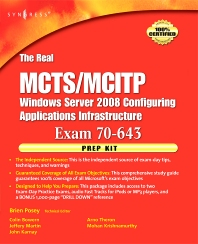 The Real MCTS/MCITP Exam 70-643 Prep Kit - 1st Edition - ISBN: 9781597492478, 9780080570372