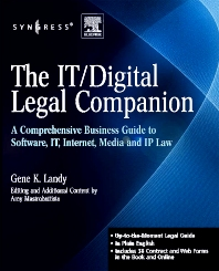 The IT / Digital Legal Companion - 1st Edition - ISBN: 9781597492560, 9780080558820