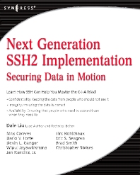 Cover image for Next Generation SSH2 Implementation