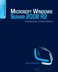 Cover image for Microsoft Windows Server 2008 R2 Administrator's Reference