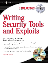 Writing Security Tools and Exploits, 1st Edition,James Foster,ISBN9781597499972