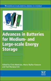 Cover image for Advances in Batteries for Medium and Large-Scale Energy Storage