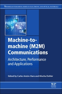 Cover image for Machine-to-machine (M2M) Communications