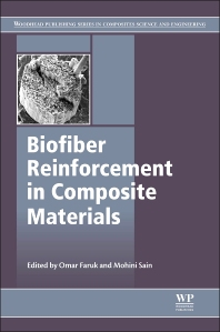 Cover image for Biofiber Reinforcements in Composite Materials