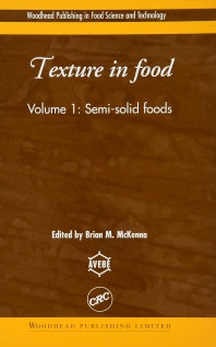 Texture in Food - 1st Edition - ISBN: 9781782421511